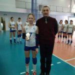Турнир по волейболу среди девушек 2004 г.р. в Казани 17.02.-19.02.2018 г.